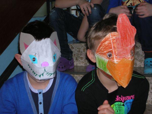 faschingsmasken basteln selber mit kindern